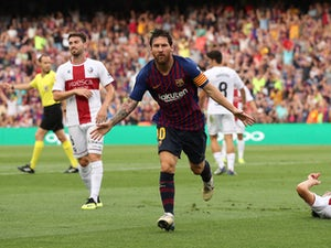 Barca put eight past Huesca at Camp Nou