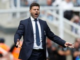 Mauricio Pochettino in charge of Tottenham Hotspur on August 11, 2018