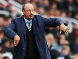 Newcastle United manager Rafael Benitez is a little teapot on August 26, 2018