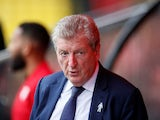 Crystal Palace manager Roy Hodgson on August 26, 2018