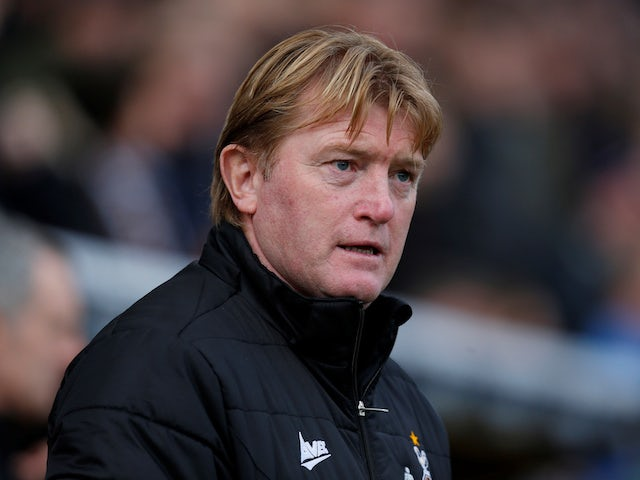 Stuart McCall sacked by Scunthorpe United