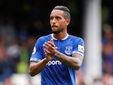 Theo Walcott in action for Everton on August 18, 2018