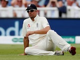 Alastair Cook in action for England on August 2, 2018