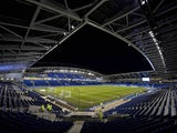General view of Brighton & Hove Albion's Amex Stadium taken March 2015