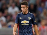 Ander Herrera in action for Manchester United in the pre-season friendly against Bayern Munich on August 5, 2018