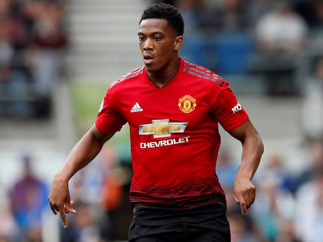 Man United 'refusing to sell Martial'