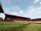 General view of Nottingham Forest's City Ground taken August 2018