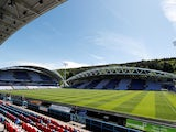 General view of Huddersfield Town's John Smith's Stadium taken May 2018