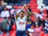 Kieran Trippier in action for Tottenham Hotspur on August 18, 2018