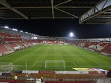General view of Rotherham United's New York Stadium taken March 2018
