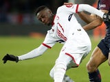 Nicolas Pepe in action for Lille on December 9, 2017