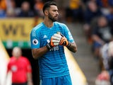 Rui Patricio in action for Wolverhampton Wanderers on August 25, 2018