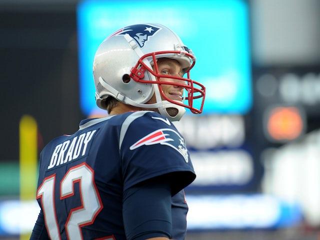 Tom Brady for the New England Patriots