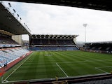 General view of Burnley's Turf Moor taken April 2018