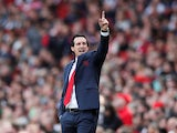 Arsenal manager Unai Emery has a point to make on August 25, 2018