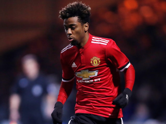 Barcelona want Man United's Angel Gomes?