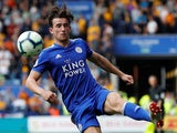 Ben Chilwell in action for Leicester City on August 18, 2018