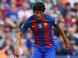 Carles Alena in action for Barcelona in August 2016