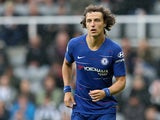David Luiz in action for Chelsea during a Premier League clash with Newcastle United on August 28, 2018