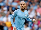 David Silva in action for Manchester City on September 1, 2018