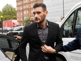 Hugo Lloris arrives at Westminster Magistrates' Court on September 12, 2018