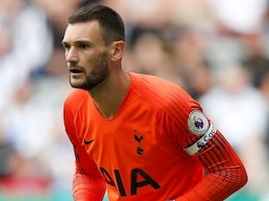 Hugo Lloris in action for Tottenham Hotspur on August 13, 2018