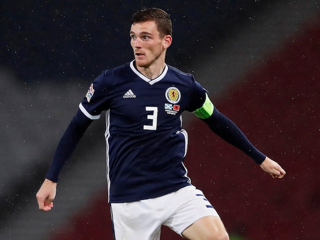 sale retailer d440a 59ef7 Scotland's Andy Robertson to miss opening Euro 2020 ...