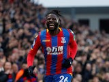 Bakary Sako in action for Crystal Palace in January 2018