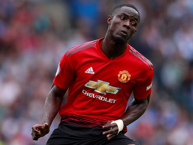 Eric Bailly in action for Manchester United on August 19, 2018