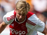Frenkie de Jong in action for Ajax on July 19, 2018