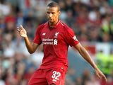 Joel Matip in action for Liverpool in pre-season on July 19, 2018
