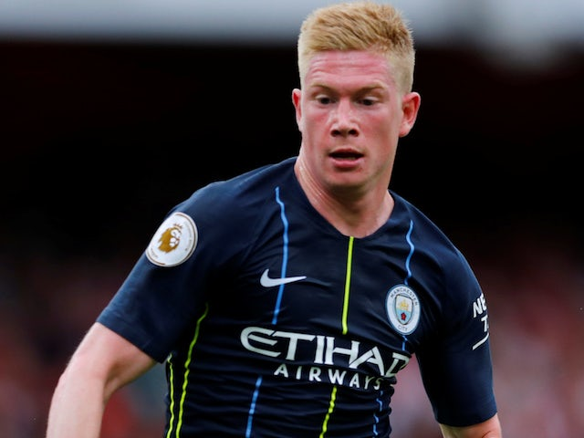 Kevin De Bruyne close to training return