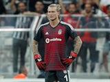 Loris Karius in action for Besiktas in the Europa League on September 20, 2018