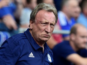 Cardiff City manager Neil Warnock looking sultry on September 2, 2018