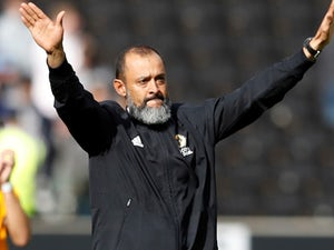 Wolverhampton Wanderers head coach Nuno Espirito Santo celebrates his side's latest victory on September 16, 2018