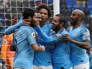 Mahrez off mark as Man City thump Cardiff