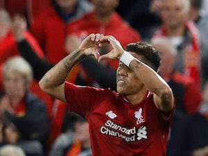 Roberto Firmino salvages three points late on during the Champions League group game between Liverpool and Paris Saint-Germain on September 18, 2018