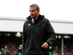 Slavisa Jokanovic watches on during the Premier League game between Fulham and Watford on September 22, 2018