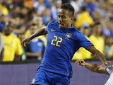Eder Militao in action for Brazil on September 12, 2018