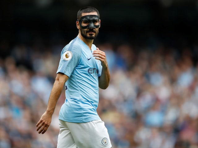 save off 2493d 137dd Manchester City midfielder Ilkay Gundogan 'a major doubt ...