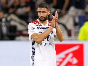 Nabil Fekir in action for Lyon on September 23, 2018