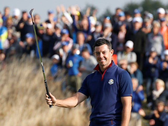 Ryder Cup captain Harrington expects McIlroy to play in next year's tournament
