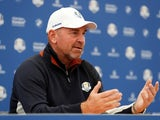 Team Europe captain Thomas Bjorn at a presser on September 26, 2018