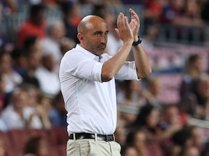 Alaves manager Abelardo pictured in September 2018