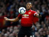 Antonio Valencia in action for Manchester United on August 27, 2018