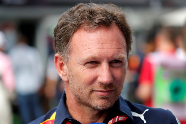 Horner not worried about 'pink Mercedes'