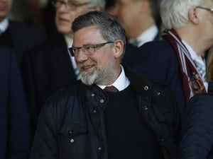 Hearts manager Craig Levein pictured in 2017