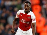 Danny Welbeck in action for Arsenal on September 23, 2018