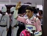 Esteban Ocon Racing Point Force India