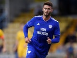 Gary Madine in pre-season action for Cardiff City on July 20, 2018